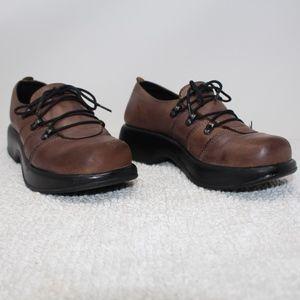 Dansko Light Brown Leather Clog Shoes Size 36 6